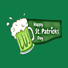 Check out this awesome 'Happy+St.+Patricks+Day+Beer' design on @TeePublic!