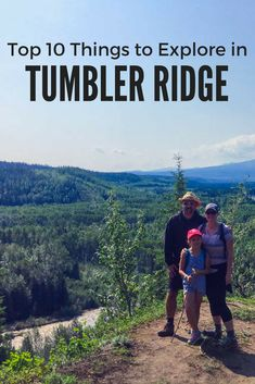 Are you looking for an amazing family friendly destination for outdoor enthusiasts? Check out this article and learn about the adventures available in Tumbler Ridge! Travel With Kids, Family Travel, Family Camping, Alberta Canada, Family Adventure, Adventure Travel, Vancouver, Canada Travel, Columbia Travel