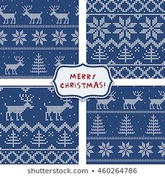 Scandinavian Seamless Pattern Stock Vector (Royalty Free) 90694426 Merry Christmas, Christmas Gifts, Scandinavian, Royalty Free Stock Photos, Cross Stitch, Wraps, Paper, Day, Illustration