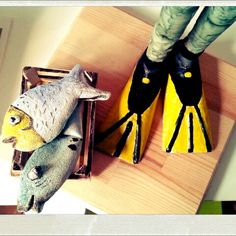 My plungers swimming fins Art Dolls, My Arts, Swimming, Heels, Swim, Heel, Shoes High Heels, Shoes Heels, Platform