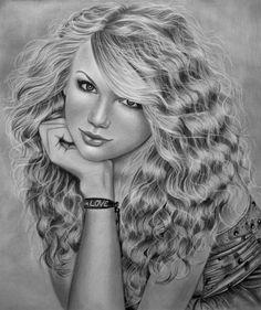 TAYLOR SWIFT by AngelasPortraits.deviantart.com on @deviantART