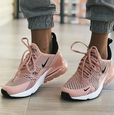 These Nike shoes wear are cute. Love the color- These Nike shoes wear are cute. Love the color These Nike shoes wear are cute. Love the color - Women's Shoes, Pink Nike Shoes, Hype Shoes, Pink Nikes, New Shoes, Me Too Shoes, Shoe Boots, Shoes Style, Nike Shoes Outfits