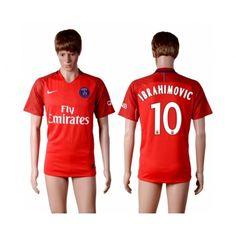 Paris Saint Germain PSG 16-17 Zlatan Ibrahimovic 10 Bortedraktsett Kortermet.  http://www.fotballteam.com/paris-saint-germain-psg-16-17-zlatan-ibrahimovic-10-bortedraktsett-kortermet.  #fotballdrakter