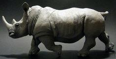 White Rhinoceros (Safari Ltd. - Wildlife Wonders) - Animal Toy Forum