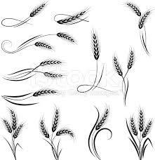 Image result for art nouveau wheat sheaf clip art