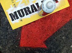 Marcação do circuito MURALIZA 2014 /// Marking the circuit MURALIZA 2014