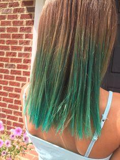 Cherry red Kool Aid dip dye | Kool aid dip dyed hair | Pinterest ...
