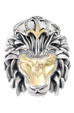 Konstantino 'Minos' Lion Head Pendant available at #Nordstrom