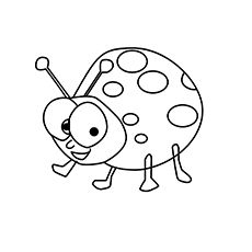 ladybug coloring pages free printables