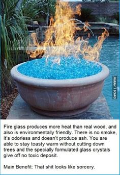 Fire glass