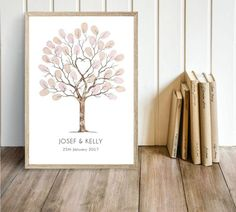 I want a wedding footprint tree for my special day! Wedding Tree Guest Book, Guest Book Tree, Tree Wedding, Wedding Ideas, Fingerprint Tree, Watercolor Trees, Watercolour, Guest Book Alternatives, Deco Design