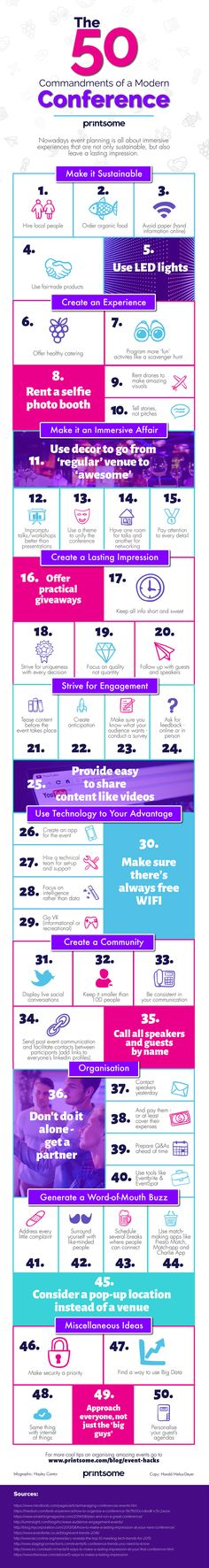 #conferences #eventplanning #infographic #meeting