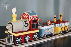 All Aboard! - by Three Little Blackbirds @ CakesDecor.com - cake decorating website
