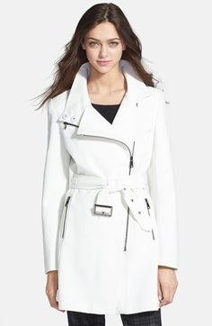 Love this white trench coaT - want this in my Olivia Pope wardrobe