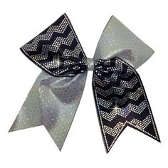 Wide Chevron Spangle Bow Strips. Over 2000 beautiful sparkly holographic spangles!