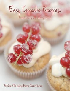 Easy Cupcake Recipes: A simple step by step sweet cupcake book (LynLyn baking dessert series) [Kindle Edition], (cookbook, books read since copied from the web, dessert, kindle book) Book Cupcakes, Cupcakes For Boys, Sweet Cupcakes, Yummy Cupcakes, Cookbook Design, Easy Cupcake Recipes, Homemade Donuts, Cookery Books, Food Obsession