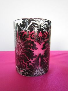 craft--candleholder Damask--Wedding by Color