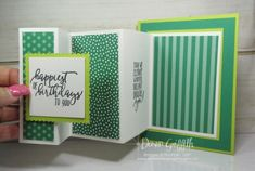 Fold Out Panel card video ~ Two for Thursday - Dawn's Stamping Thoughts