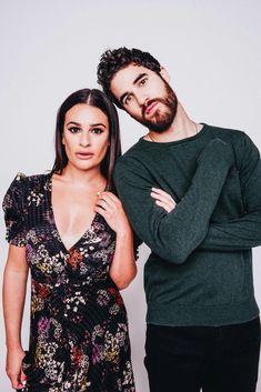 Lea Michelle and Darren Chris