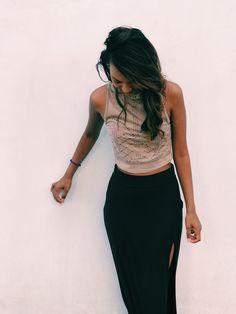 maxi skirt / dressy