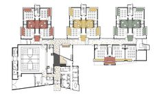 Beautiful Elementary School Floor Plans With Elementary School Plans Building Design Plan, School Building Design, The Plan, How To Plan, School Floor Plan, School Plan, Architecture Design Concept, Architecture Plan, Education Architecture