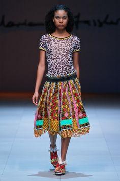 Marianne Fassler Spring Summer collection 2015 shown at the Mercedes-Benz Fashion Week Cape Town. African Inspired Fashion, African Print Fashion, African Prints, Kitenge, Afro, Mercedes Benz, Costumes Couture, Bold Fashion, Fashion Design