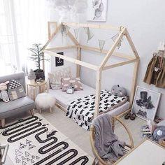 21 Super Cute Floor Bed Designs For Kids Room Decor Big Girl Rooms, Boy Room, Child Room, Baby Bedroom, Girls Bedroom, Canopy Bedroom, Toddler Rooms, Kids Rooms
