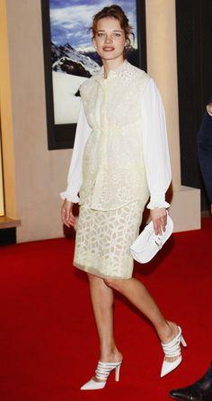 Natalia Vodianova - Maison Louis Vuitton Roma Etoile Cocktail - Red Carpet