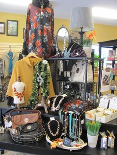 Autumn Featured Apparel Display-Cuba City Hometown Pharmacy