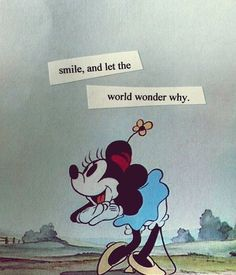 """""""Smile, and let the world wonder why"""" #quotes #happy"""
