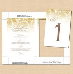 White Gold Sparkles Wedding Menu, Table Numbers, Instagram, Cards and Gifts Signs (4x6): Text-Editable in Word, Printable Instant Download by BrownPaperMoon on Etsy https://www.etsy.com/listing/232719709/white-gold-sparkles-wedding-menu-table