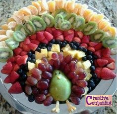 Turkey Fruit Platter | Extreme Couponing :: Minnesota Wisconsin Iowa