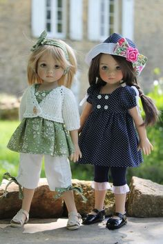 Envie de soleil / Dianna Effner's Little Darlings dolls / wonderful dolls and clothes