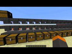 Minecraft Auto-Storage System Tutorial! [Works in 1.8] - YouTube