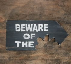 Beware of Dog Man Cave Wood Sign No Girls Allowed by CoolDogDuke, $28.00