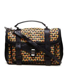 PS1 Large Woven Leather Satchel by PROENZA SCHOULER at Browns Fashion for £2,360.00