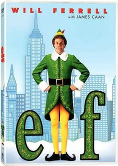 2003 Will Ferrell Christmas movie, Elf 5 Best Holiday Movies- These are 5 best Christmas movies to keep you and yours warm and entertained this holiday season! Including old classics and new favourites Elf Movie, Movie Tv, Best Holiday Movies, Great Movies, Xmas Movies, Favorite Holiday, Awesome Movies, Funny Movies, Elf