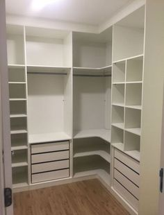 Corner wardrobe closet ideas ideas for 2019 Corner Wardrobe Closet, Corner Closet Organizer, Bedroom Closet Doors, Bedroom Closet Design, Shelves In Bedroom, Closet Designs, Master Closet, Shoe Closet, Closet Mirror