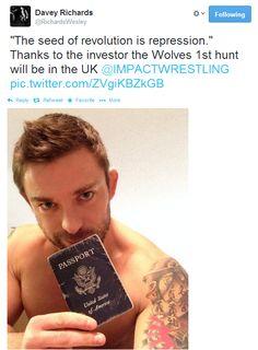 Davey Richards tweet