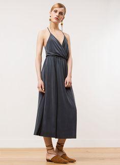 Kleid aus Kunstseide