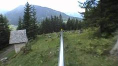 Mieders Single Track Alpine Coaster (with no brakes) I have to do this! #bucketlist
