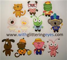 How to use the Teddy Bear Parade cartridge with others to create a whole menagerie of dressed up critters!All details here:  http://www.withglitteringeyes.com/2012/08/expanding-teddy-bear-parade-for-even.html