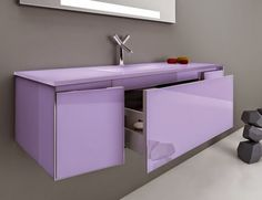 Photos On Infinity IN Modular Italian Bathroom Vanity in Red Carmino Lacquer Nella Vetrina Italian Bath Room Furniture Pinterest Italian bathroom