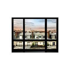 Window View, Special Series, Rooftops, Sacre-Cœur Basilica, Paris,... ($35) ❤ liked on Polyvore featuring home, home decor, wall art, windows, paris wall art, photography wall art, window wall art, interior wall decor and parisian home decor