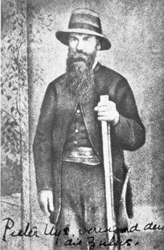 Petrus Lafras (Piet Italeni) Uys die bekende Voortrekker leier