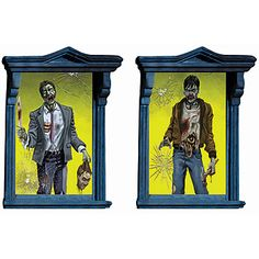 Zombie Window Magic Decorations