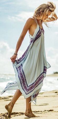 ╰☆╮Boho chic bohemian boho style hippy hippie chic bohème vibe gypsy fashion indie folk outfit╰☆╮❤️Yes! Mode Hippie, Mode Boho, Look Fashion, Womens Fashion, Dress Fashion, Bohemian Fashion, Fashion 2015, Fashion Ideas, Bohemian Style Clothing