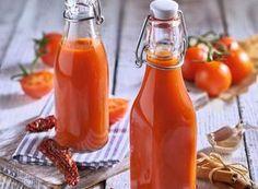Photographie de recette Ketchup, Bon Appetit, Cooking Chef, Hot Sauce Bottles, Ramadan, Food, Food Processor, Recipes, Vanilla Sauce
