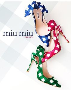 Another desperate housewifes classic. I don't mind they are from Miu Miu, great designers also can be mistaken.