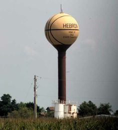 Basketball Water Tower